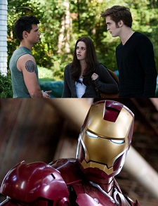 """Iron Man 2"" vs. ""Eclipse"""