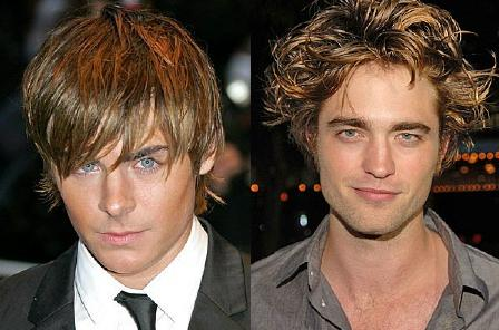 Zac Efron and Robert Pattinson