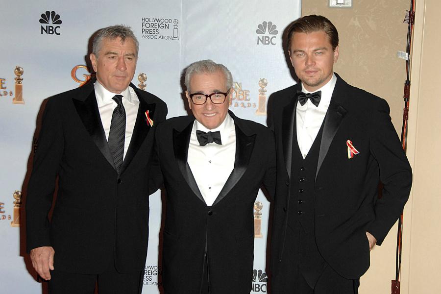 Robert De Niro, Martin Scorsese, Leonardo DiCaprio