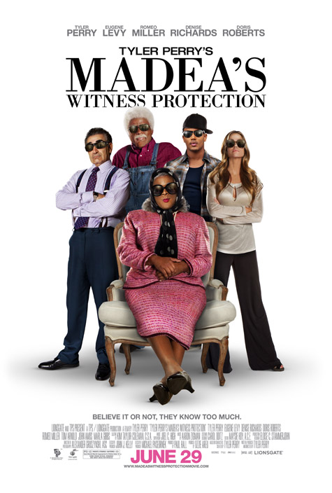 Exclusive Tyler Perry's Madea's Witness Protection poster