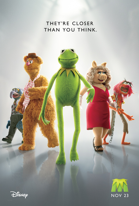 Exclusive: The Muppets poster