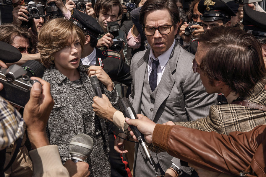 All the Money in the World Michelle Williams Mark Wahlberg