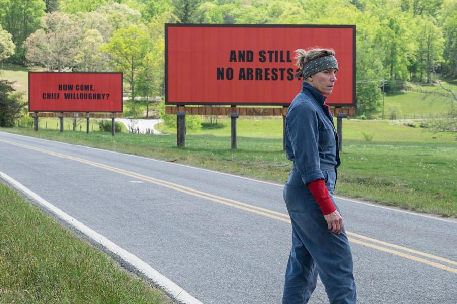 Frances McDormand Three Billboards Outside Ebbing, Missouri