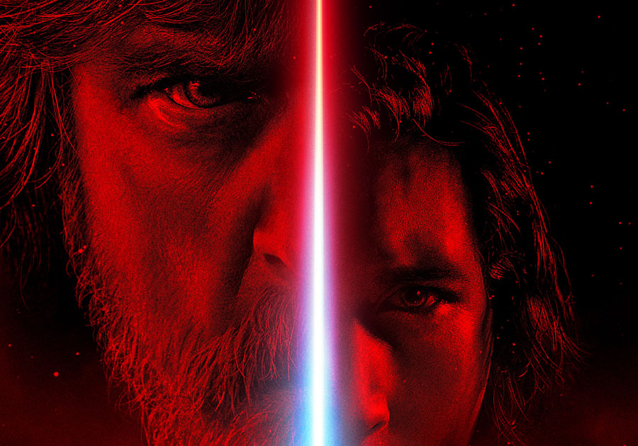 Star Wars: The Last Jedi Kylo Ren Luke Skywalker Adam Driver Mark Hamill