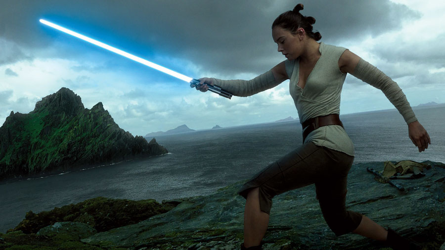 Star Wars: The Last jedi Rey Daisy Ridley