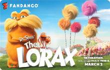 The Lorax Fandango Bucks