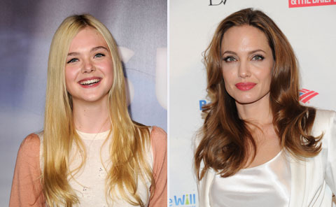 Elle Fanning and Angelina Jolie to star in Maleficent