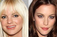 Anna Farris and Liv Tyler