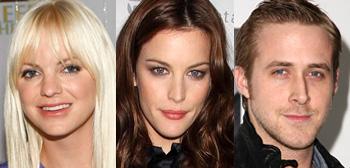 Anna Farris, Liv Tyler and Ryan Gosling