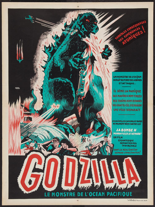 Get Fired Up for 'Godzilla' with This New Mondo Poster ...