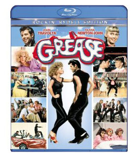 'Grease' on Blu-Ray