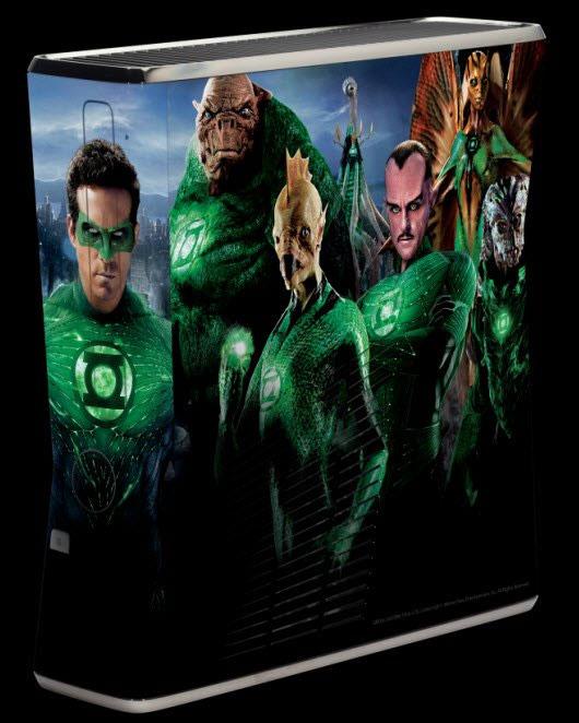 Limited Edition Green Lantern XBox 360 console
