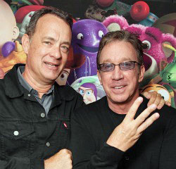 Tom Hanks and Tim Allen