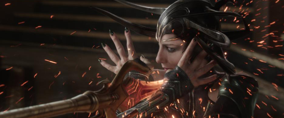 Cate Blanchett Hela Thor: Ragnarok