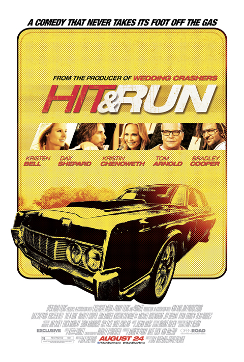 Exclusive: 'Hit & Run' Poster Premiere!