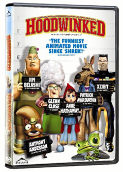 'Hoodwinked' on DVD