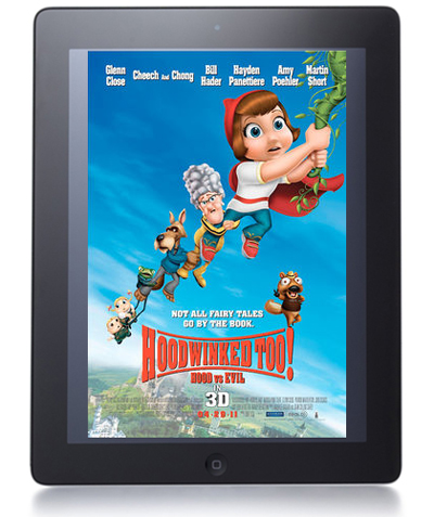 'Hoodwinked Too!' iPad 2 Giveaway!