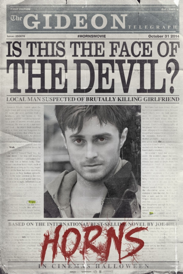 'Horns' Trailer: See Daniel Radcliffe Become the Devil ... Horns Movie