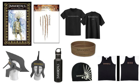 'Immortals' Prize Pack Giveaway!