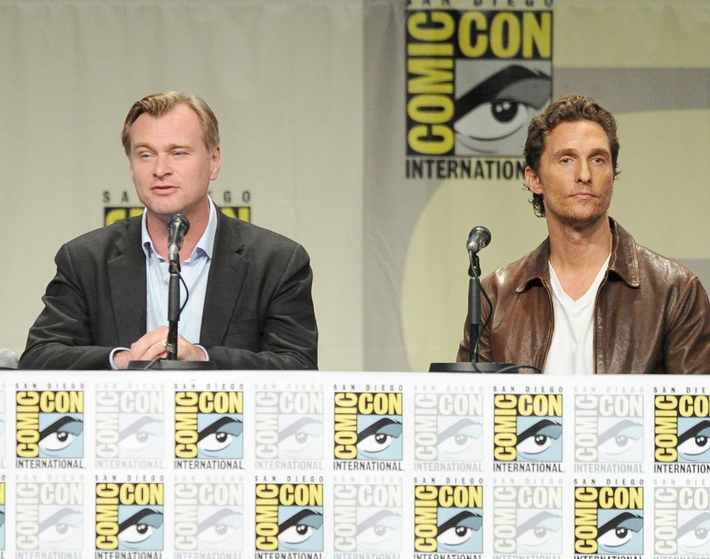 interstellarpanel The Best of Comic Con: Batman, The Rock, Interstellar and More