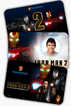 Iron Man 2 Gift Cards