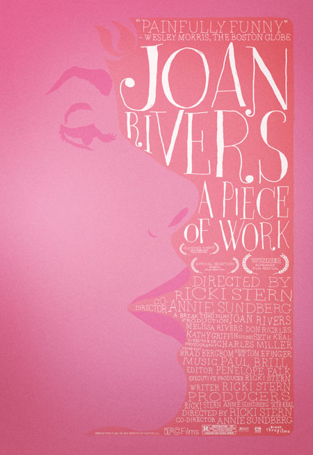'Joan Rivers: A Piece of Work' Poster Premiere!