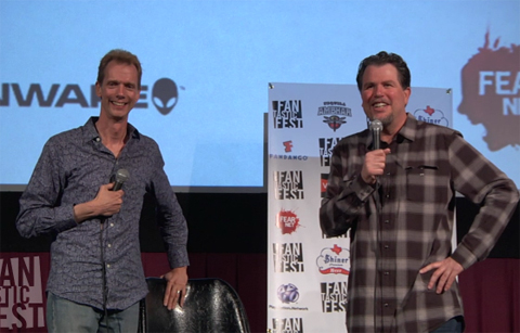 Doug Jones and Don Coscarelli