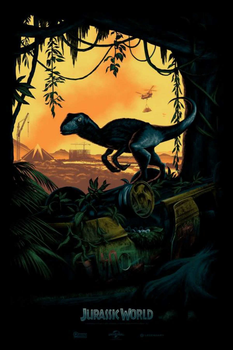New Jurassic World Art Released