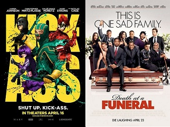 'Kick-Ass' or 'Death at a Funeral'