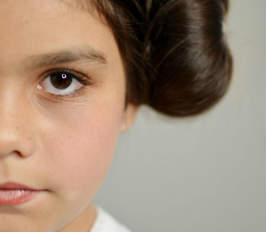 Princess leia makeup