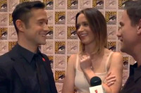 Joseph Gordon-Levitt and Emily Blunt