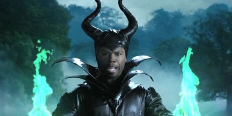 Fifty Cent in Maleficent parody