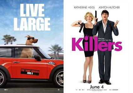 'Marmaduke' and 'Killers'