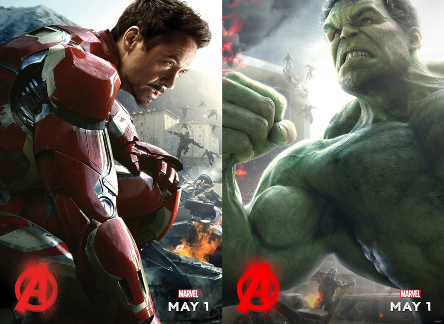 watch the iron man vs hulk fight from avengers age of ultron