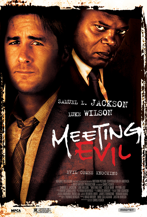 Exclusive: 'Meeting Evil' Poster Premiere!