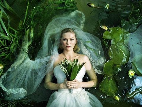 """Kirsten Dunst in """"Melancholia."""""""