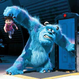 Monsters, Inc Popular Disney Cartoon