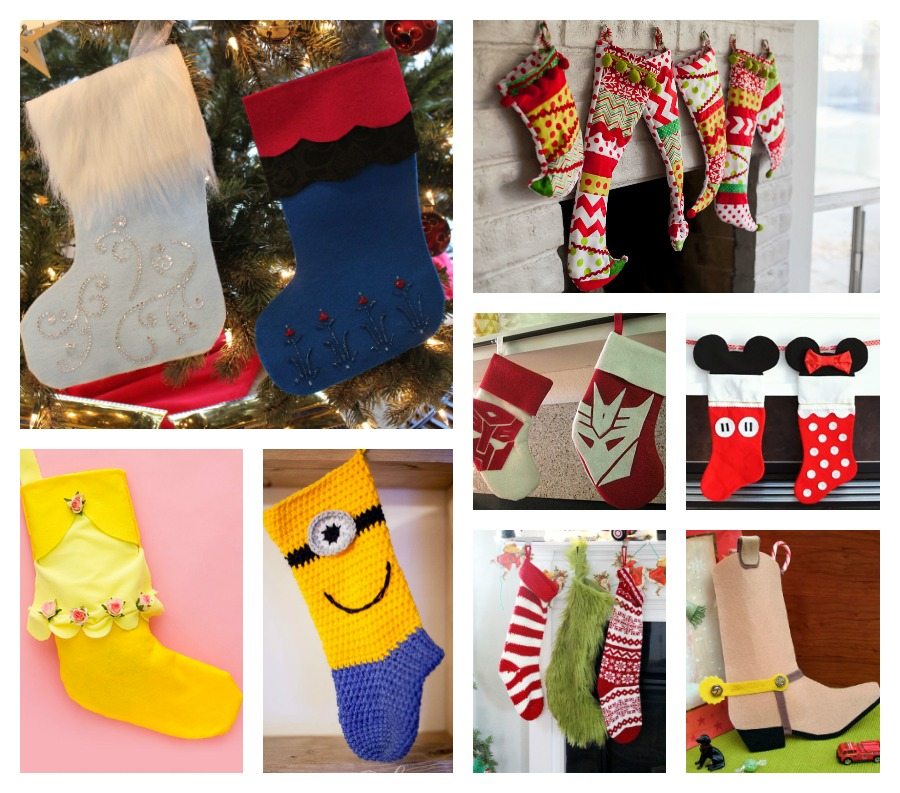 make homemade stockings inspired by favorite family movies fandango