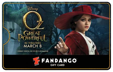 Mila Kunis Oz Fandango Gift Card
