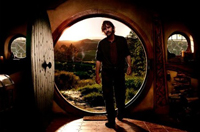 Peter Jackson on the Shire