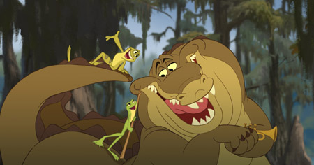 Exclusive: Naveen, Louis, and Tiana in The Princess and the Frog