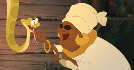 Exclusive: Mama Odie in The Princess and the Frog.