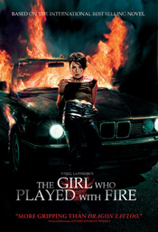 'The Girl Who Played With Fire' DVD