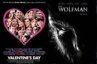 Valentine's Day and The Wolfman