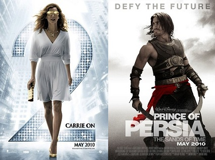 'Sex and the City 2' and 'Prince of Persia'