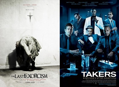 'The Last Exorcism' and 'Takers'