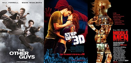 """""""The Other Guys,"""" """"Step Up 3D,"""" and """"Middle Men"""""""