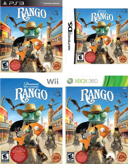 'Rango' video game