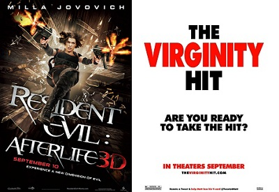 """""""Resident Evil: Afterlife"""" and """"The Virginity Hit"""""""