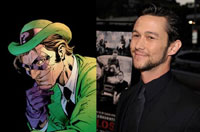 Joseph Gordon-Levitt as The Riddler?